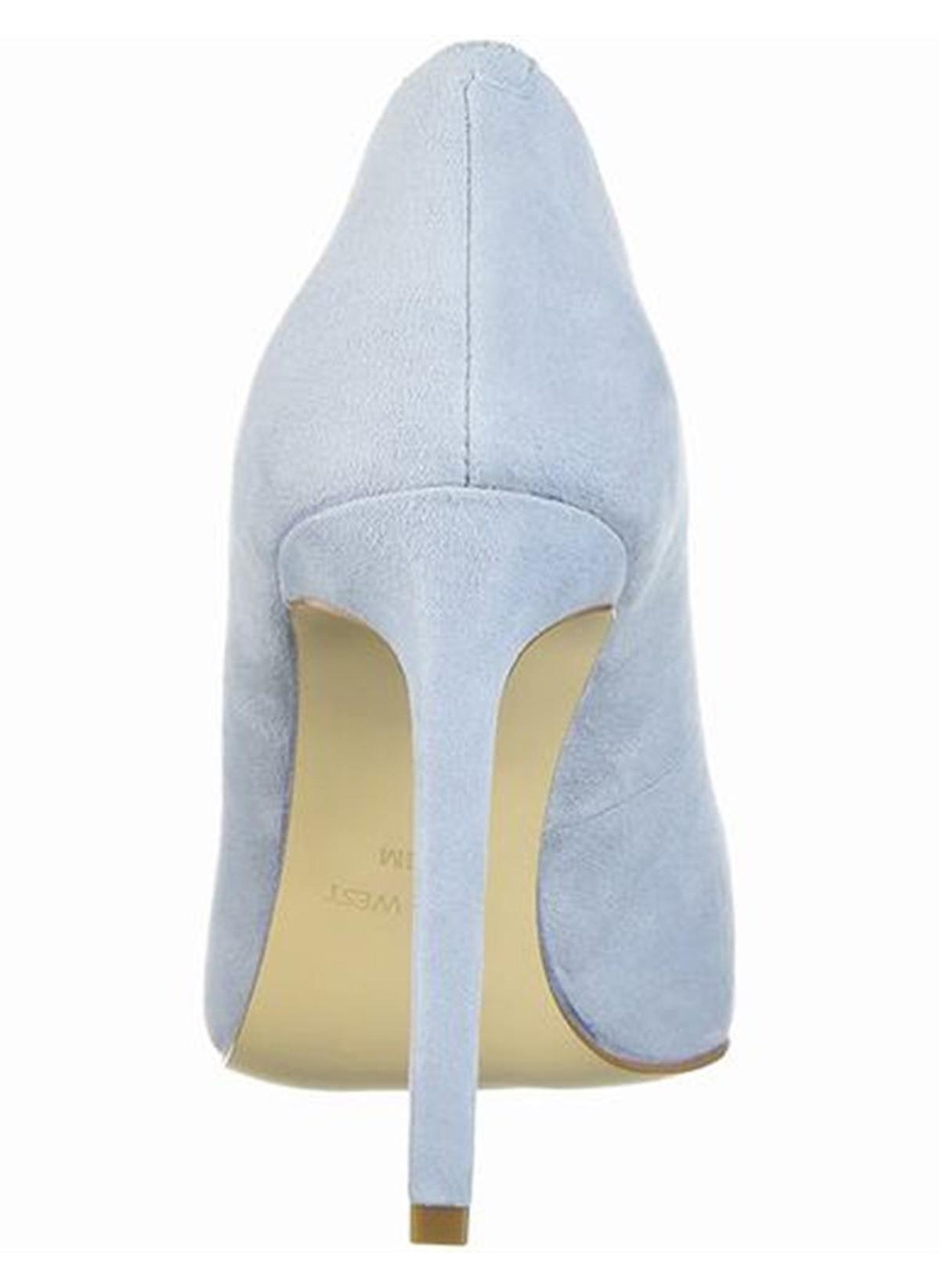 ec551439dc79b Nine West Kadın Stiletto Ayakkabı Açık Mavi Gerçek Süet   Morhipo ...